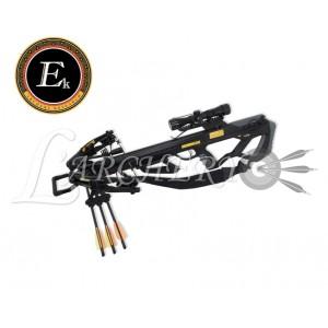 Arbalète EK-Poelang Guillotine 370 fps Noire