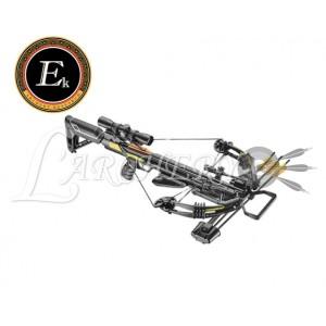 Arbalète EK-Poelang Accelerator 390+ 390fps 185lbs Noire