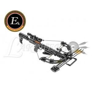 Arbalète EK-Poelang Accelerator 370+ 390fps 185lbs Noire