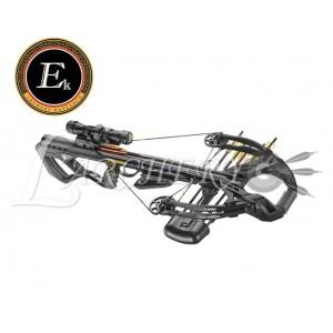 Arbalète EK-Poelang Guillotine X 400 fps Noire