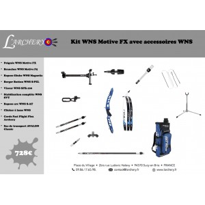 Pack WNS Motive FX avec accessoires WNS