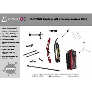 Pack WNS Vantage AX avec accessoires WNS