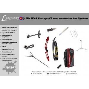Pack WNS Vantage AX avec accessoires Arc Système
