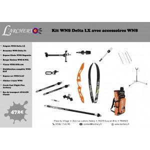 Pack WNS Delta LX avec accessoires WNS