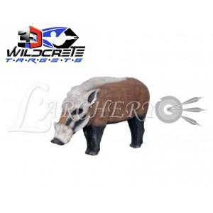 Cible 3D Wildcrete Grand Potamochère