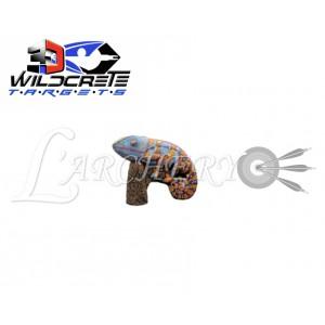 Cible 3D Wildcrete Caméléon