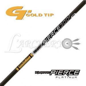 Gold Tip Pierce Platinium (par 12)